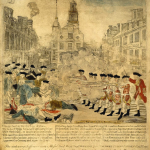 Partial repeal of the Townshend Acts and the Boston Massacre